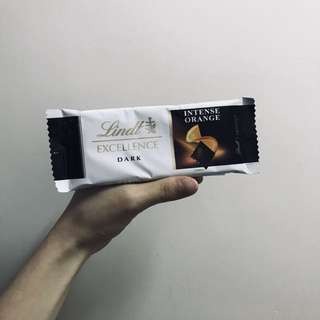 Lindt瑞士蓮迷你香橙口味/牛奶口味純可可黑巧克力獨立装