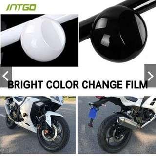 Decal Color-Change Film Universal Glossy Black PVC Car 30X 152CM