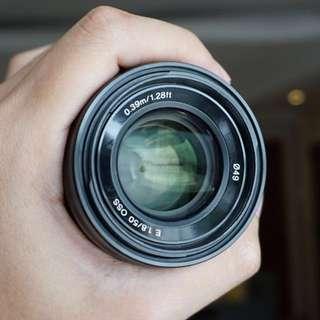 Sony E 50mm f1.8 OSS Lens - SEL50F18