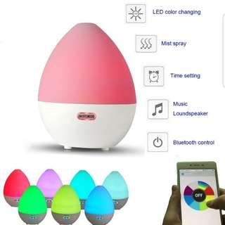 Bluetooth Music Essential Oil Aroma Diffuser Atomizer Humidifier