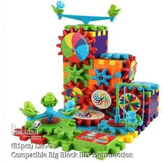 LOGO :compatible big DIY lego (81 PCS)