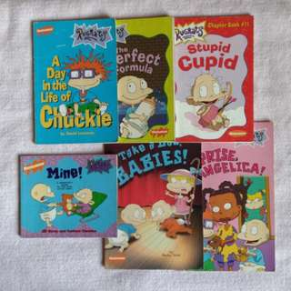 Rugrats Books Set