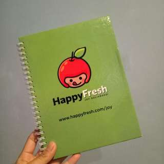 Happy fresh notebook