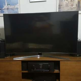 WTS 55 INCH SAMSUNG CURVE TV