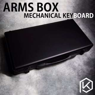 Arms box for keyboard storage