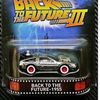 Hot Wheels Back To The Future III Cruise Mode US Rare