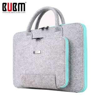 PO 15 Inch Laptop Inner Package Bag Hair Felt Material
