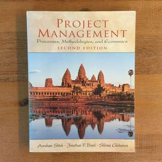 Project Management: Processes, Methodologies and Economics / 2nd Ed / Shtub et al