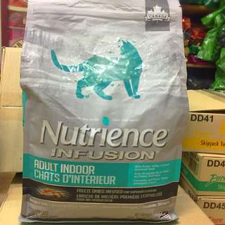 Nutrience Infusion  Adult Indoor Cat food 2kg