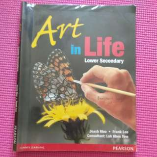 PEARSON Lower Secondary Art in Life