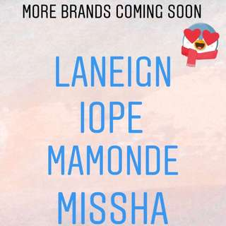 MORE BRANDS COMING SOON!!