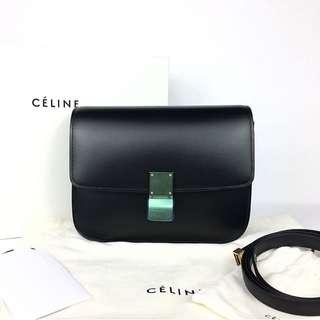 Céline Box Bag in Black