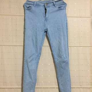 Celana high waist - high waist pants denim