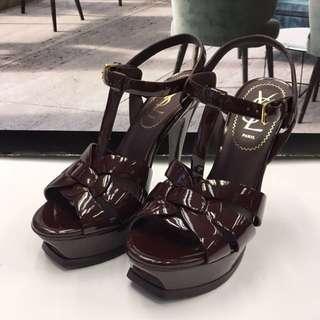 Yves Saint Laurent Patent Sandals
