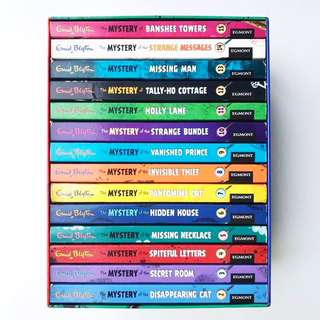 Book: Enid Blyton - 15 Classic Mysteries Box Set