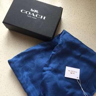 Coach頸巾絲巾 scarf 情人節禮物