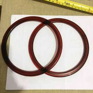 Handbag HOOPS ( 2 colours )