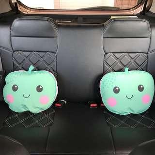 TWO Apple Cushion