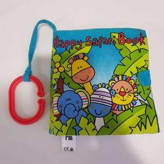 Mothercare Soft Happy Safari Book.