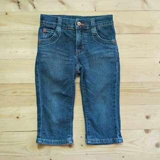 Jeans anak Something  5 - 6 tahun LP 35cm, P 53cm Pengaturan pinggang 45ribu  Sapa Cepat Dia Dapat😍