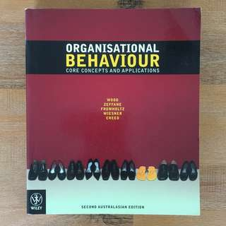 Organisational Behaviour 2 textbook bundle - save $$$