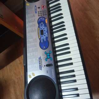 Casio CT-647 and LK-37 Portable Keyboard