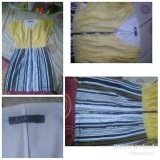 Dress elurde size L (free ongkir jabodetabek)