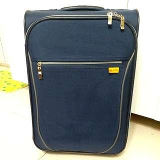 95% new Navy blue 行李箱