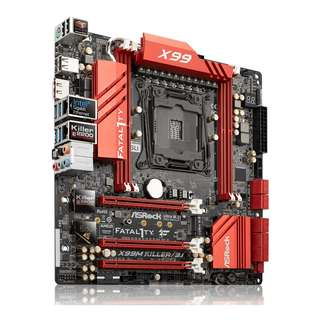 asrock x99m killer 3.1 + Intel 5930k