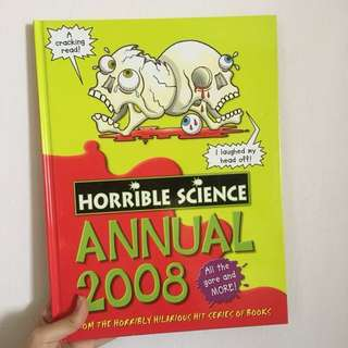 Horrible Science Annual 2008 Hardcover Book