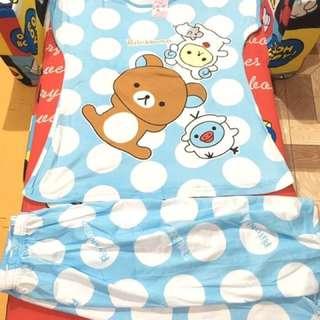 Blue rilakkuma tokong terno for adult