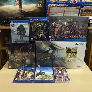 PS4 Switch 二月遊戲