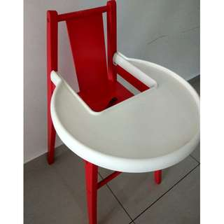 Ikea High Chair (solid wood)