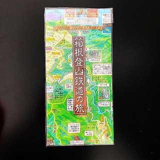 Hakone Souvenir Map