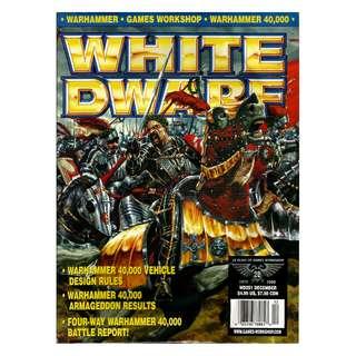 Pre-Owned - Magazine - White Dwarf  #251, #252, #253, #254, #255 (Magazine Only)