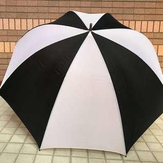 高爾夫球傘 34 in. 黑白條紋款
