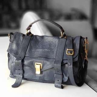 Authentic Proenza Schouler Leather Shoulder Bag