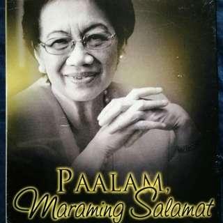 Paalam Maraming Salamat Pres. Corazon Aquino