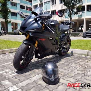Yamaha YZF-R6' 2017 Carbon Body Parts for Sale/Pre-Order