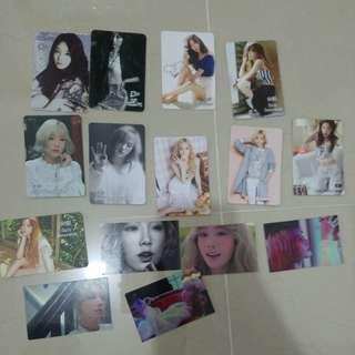 Taeyeon太妍yes card小卡全部15張