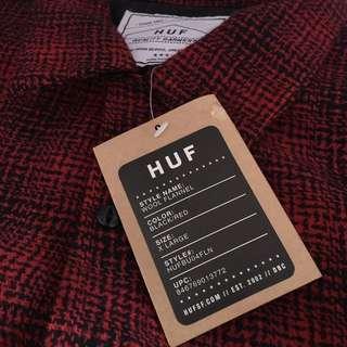 Brand new HUF Wool Flannel HARGA PAS, NO TAWAR2, NO RIBET