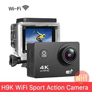 H9K WiFi Sports Action Camera 4K 16MP Ultra HD Waterproof Sports Camera