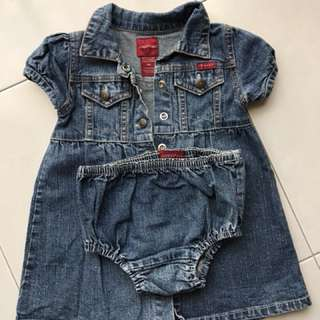 GUESS baby denim dress