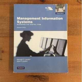 Management Information Systems / 11th Ed / Laudon & Laudon