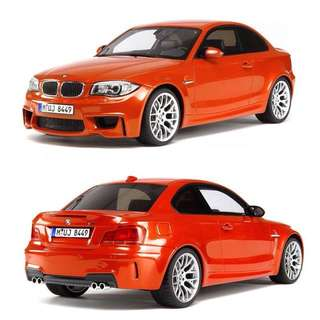 1/18 GT Spirit BMW 1M Orange