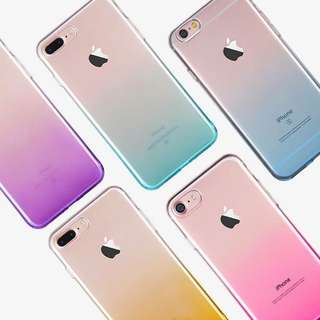 COLOR GRADIENT SOFT CASES