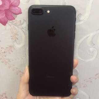 IPHONE 7 PLUS 32 GB BLACK MATTE EX INTERN (PEMAKAIAN CEWE)
