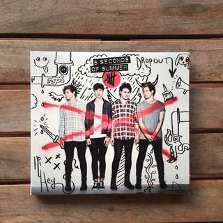 SELF TITLED ALBUM by 5 Seconds of Summer