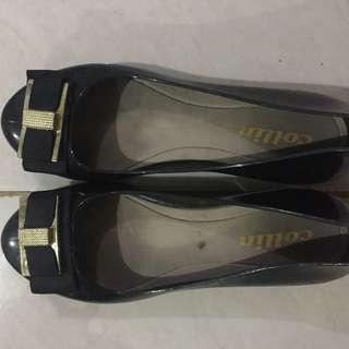 Flatshoes black - flatshoes hitam