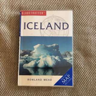 Iceland travel book with map